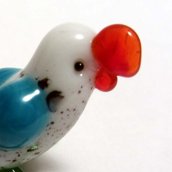 Parrot  Glass Miniature