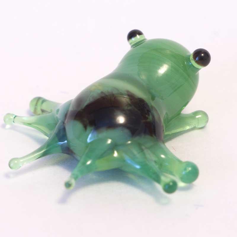 Glass Frog Mini Figurine