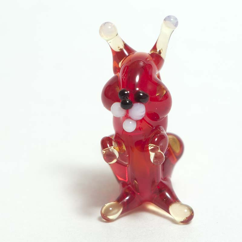 Squirrel micro figurine