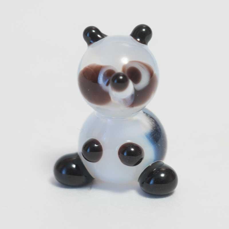 Glass Panda Miniature