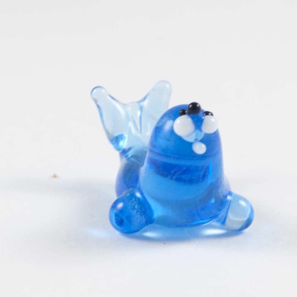 Seal  glass figurine