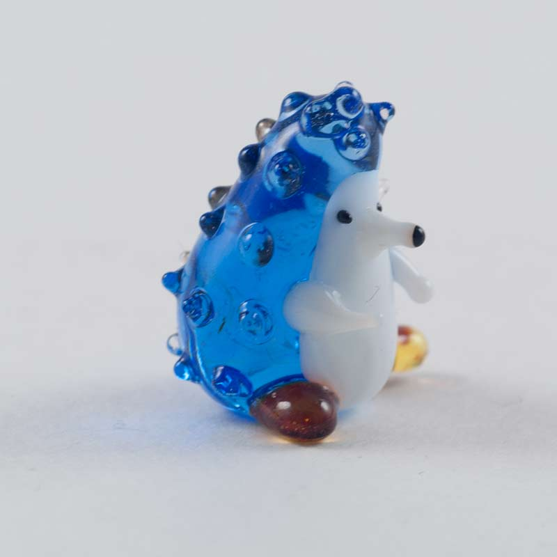 Hedgehog  glass figurine