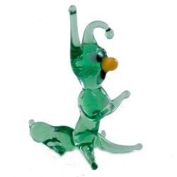 Caterpillar Small Glass Figurine, fig. 1
