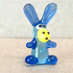 Jolly Donkey Glass Miniature