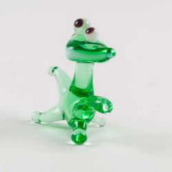 Glass Frog Figure